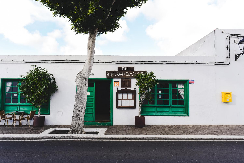 Restaurant El Volcano, Yaiza, Lanzarote