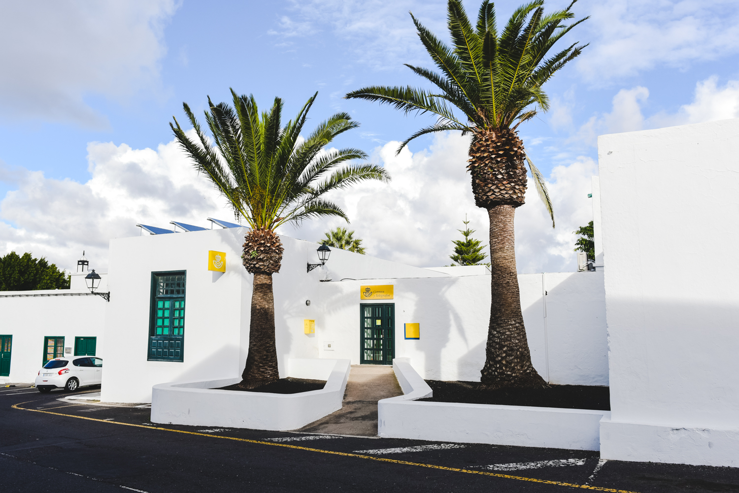 Post office Yaiza Lanzarote